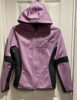 NIKE Women's Lavender Purple Zip Up Exercise Running Hoodie Jacket Sz Small EUC