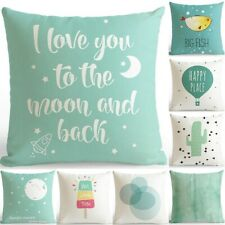 Nordic Simple Style Pillow Case Polyester Throw Cushion Cover Sofa Home Decor