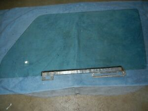 1972 SAAB 99 2 Door Hatchback Left Door Glass