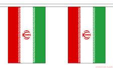 IRAN 9 METRE BUNTING 30 FLAGS flag Tehran Persia Persian Iranian