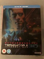 Terminator 2 3D blu ray + Blu Ray  steelbook - Sold Out - Brand New And Sealed