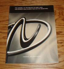 Original 1996 Oldsmobile Aurora Sales Brochure 96