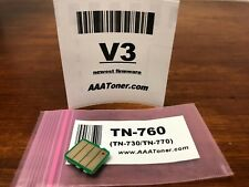 Toner Reset Chip (V3) for Brother TN-760 TN760, TN-770, TN-730 Refill, Reset