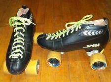 Vintage Sp204 Pacer Quadcruiser Roller Skates Derby Size Men's 8 No Stopper's