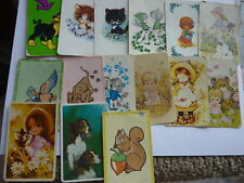 1970'S BLANK BACKS LARGE LOT FAIR ONLY SINGLE Genuine Vintage SWAP PLAYING CARDS