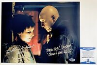 Tobin Bell & Shawnee Smith Dual Signed SAW 11x14 Photo Autographed Beckett COA