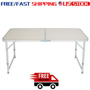120x60x70 HEAVY DUTY FOLDING CATERING CAMPING TRESTLE PICNIC DINNER PARTY TABLE