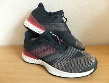 Adidas Adizero Ubersonic 3 Tennis Trainers Shoes Clay Ink Pink Blue Size UK 6.5