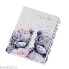 WEDDING PLANNER TATTY TEDDY ME TO YOU BOOK  WEDDING ORGANISER JOURNAL NOTEBOOK