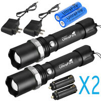 Military Grade Tactical Police SWAT Heavy Duty 3W LED Rechargeable Flashlight US