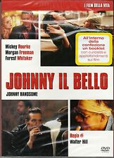 Dvd **JOHNNY IL BELLO** con Mickey Rourkev slipcase nuovo 1989