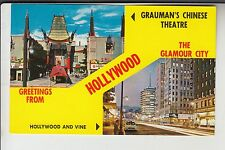 Chrome 2 View Greetings from Hollywood the Glamour City Ca California P29702