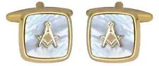 Men's Mother of Pearl Cufflinks