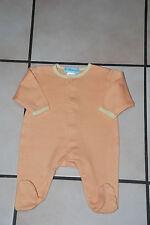 Bébé Pyjama grenouillère orange Taille 50cm/0mois à 2,00€ Très Bon Etat