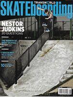 Transworld Skateboarding Magazine Nestor Judkins The Rebirth of Night Skating