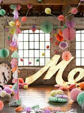 Paper Wedding Party Hanging Decorations