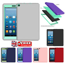 Hybrid Shockproof Heavy Duty Tough Case Cover For Amazon Kindle Fire HD8 2017