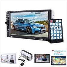 "7"" HD 2 Din Car MP5 Player GPS Navagation Bluetooth Auto Multimedia FM Radio AUX"