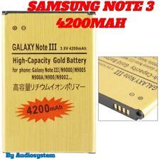 Pila 4200Mah para SAMSUNG GALAXY NOTE 3 GT N9005 MEJORADO PLUS GOLD