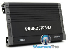 SOUNDSTREAM AR4.1200 4-CHANNEL 1200W COMPONENT SPEAKERS TWEETERS AMPLIFIER NEW