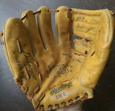 Rare Vintage Rawlings Dave Concepcion KM6 Left Hand Throw Made In The USA