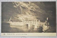 """CPA """" Grotte de HAN - Le Pont de la Salle d'Armes"""