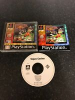Sony PlayStation 1 Video Game * Vegas Casino * Complete