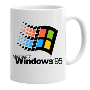 Windows 95 Time To Back To The Classic Computer Funny Coffee Mug Tea Cup
