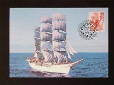 NORWEGEN MK 1982 SCHIFFE SAILING SHIP MAXIMUMKARTE CARTE MAXIMUM CARD MC c5922