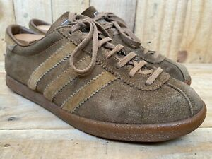 Rare 🔥VINTAGE ADIDAS TOBACCO Suede Made In France UK 6 | US 6.5