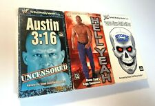 WWF / WWE Stone Cold Steve Austin Uncensored VHS Lot of 3