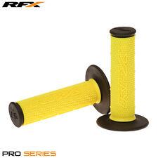 Rfx de doble densidad Grips soft-mid compuesto Amarillo Negro Motocross Enduro