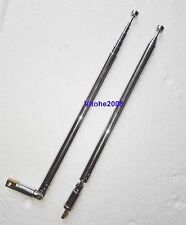 New Telescopic Aerial Antenna Replacement Steel Whip For Eton Grundig FR200