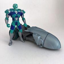 Batman & Robin Deluxe Ice Terror Mr. Freeze & Street Chill Dragster Kenner 1997