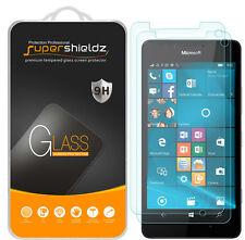 2X Supershieldz Tempered Glass Screen Protector Saver For Microsoft Lumia 950