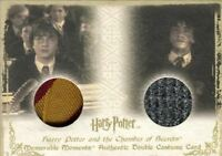 Harry Potter Memorable Moments Harry Potter Double Costume Card HP DC3 #037/360
