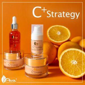 AVA Laboratorium C+ Strategy –Day/Night Cream, Face Serum, Eye Cream Astaxanthin