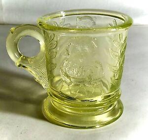 "Mosser Vaseline 2 3/4"" Cat & Dog Child's Mug"
