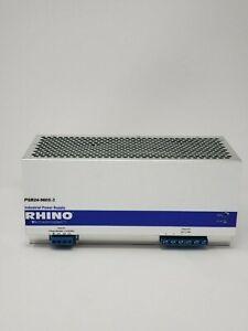 PSB24-960S-3, 24 VDC output, 40A, 960W, 480 VAC nominal input, 3-phase Rhino