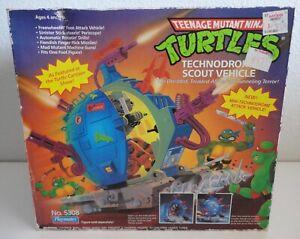 TEENAGE MUTANT NINJA TURTLES TECHNODROME SCOUT VEHICLE NEW IN SEALED BOX 1989