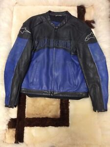 Alpinestars Leather Jacket  size L Trashed but no Holes