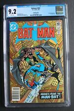 BATMAN #361 1st HARVEY BULLOCK 1983 TV's GOTHAM Man-Bat Todd Canada CGC NM- 9.2