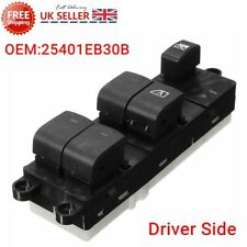 Front Right Master Window Console Switch For Nissan Navara Pathfinder 2005-On