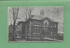 THE OLD HIGH SCHOOL In DERUYTER, NY On Vintage 100 YEAR-OLD Postcard