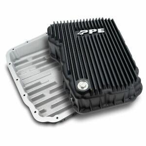 PPE 68RFE Black Transmission Pan For 07.5-2021 Dodge Ram 6.7L Cummins Diesel