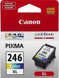 Canon Genuine Pixma 246XL 3 Colors  Printer Cartridge CL- 246 XL New OEM SEALED