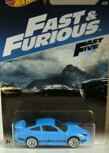 HOT WHEELS Fast & Furious PORSCHE 911 GT3 RS + HOT WHEELS Fore Wheeler
