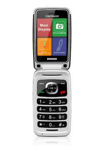 "BRONDI CONTENDER CELLULARE GSM APERTURA A CONCHIGLIA DUAL SIM MAXI DISPLAY 3"""