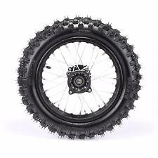 15 Inch Rear Wheel for Dirt Bikes 1.85-15 Rim 15mm Axle 80/100-12 Tyre Tire