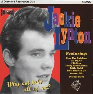 JACKIE LYNTON Why Not Take All Of Me? (1997) 28-track CD NEW/SEALED